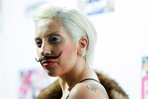 """FILE - In a Thursday, Oct. 24, 2013 file photo, Lady Gaga arrives for a presentation of her upcoming new album """"Artpop"""" at a fan event at the Berghain club in Berlin. (AP)"""