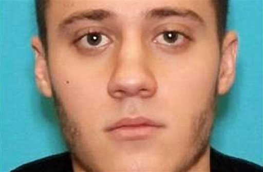 This photo provided by the FBI shows Paul Ciancia, 23. Authorities say Ciancia pulled a semi-automatic rifle from a bag and shot his way past a security checkpoint at the airport, killing a security officer and wounding other people.