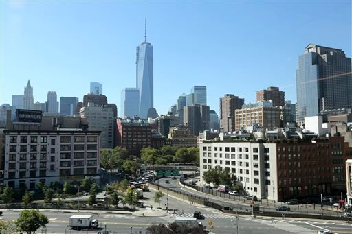 This Sept. 19, 2013 file photo shows One World Trade Center, a skyscraper built at the site of the 9/11 attacks on the World Trade Center in New York.