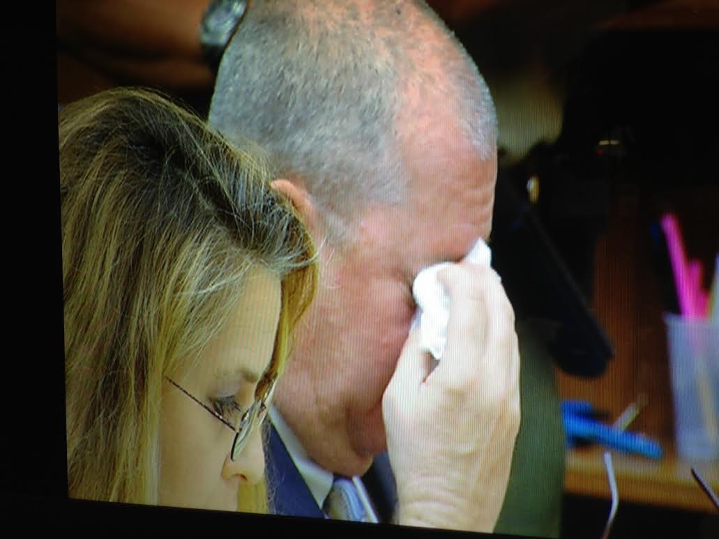 This photo shows Todd Francis at his preliminary hearing Wednesday, November 20, 2013. Photo courtesy: CBS News 8 Photographer Brian White.