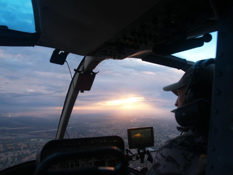 Photos taken by Phil Konstantin inside Chopper 8.