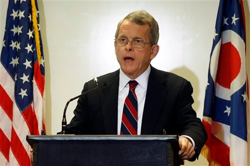 Ohio Attorney General Mike DeWine announces indictments against four additional people in relation to the 2012 rape of a high school student, on Monday, Nov. 25, 2013 in Steubenville, Ohio. (AP)