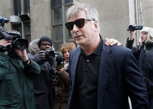 FILE - In this Tuesday, Nov. 12, 2013 file photo, actor Alec Baldwin leaves criminal court in New York. (AP)