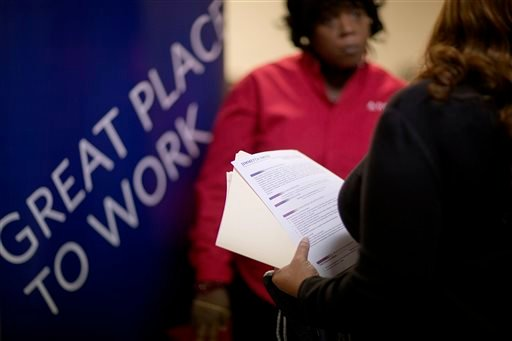 The Labor Department issues the November jobs report on Friday, Dec. 6, 2013. (AP Photo/David Goldman, File)
