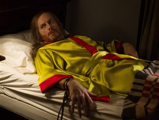 "This photo provided by FX shows Denis O'Hare as Spalding in a scene from FX's ""American Horror Story: Coven."""