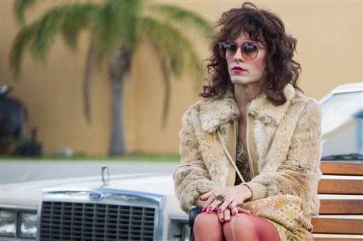 """This image released by Focus Features shows Jared Leto as Rayon in a scene from """"Dallas Buyers Club.""""(AP Photo/Focus Features, Anne Marie Fox)"""