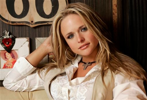 FILE - In this March 21, 2007 file photo, Miranda Lambert is shown on her tour bus in Nashville, Tenn. (AP)
