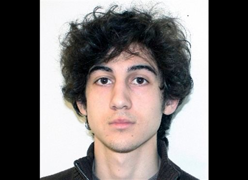This file photo provided Friday, April 19, 2013 by the Federal Bureau of Investigation shows Boston Marathon bombing suspect Dzhokhar Tsarnaev. (AP Photo/Federal Bureau of Investigation, File)
