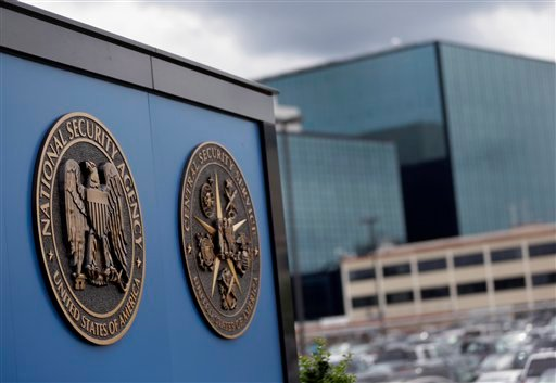 FILE - This June 6, 2013, file photo, shows a sign outside the National Security Administration (NSA) campus in Fort Meade, Md. (AP)