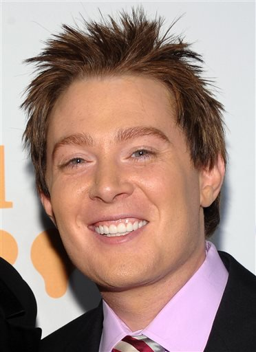 In this March 28, 2009 file photo, singer Clay Aiken attends the 20th Annual Gay & Lesbian Alliance Against Defamation (GLAAD) Media Awards in New York.