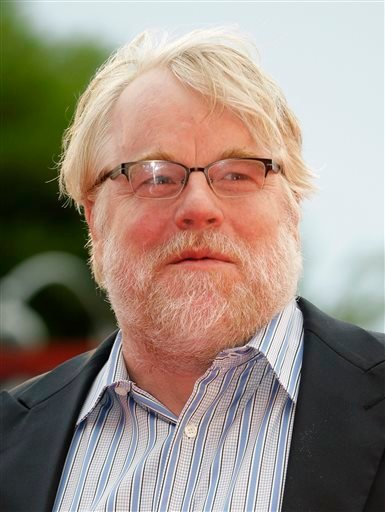 In this Sept. 1, 2012 file photo, actor Philip Seymour Hoffman arrives for the premiere of 'The Master' at the 69th edition of the Venice Film Festival in Venice, Italy.