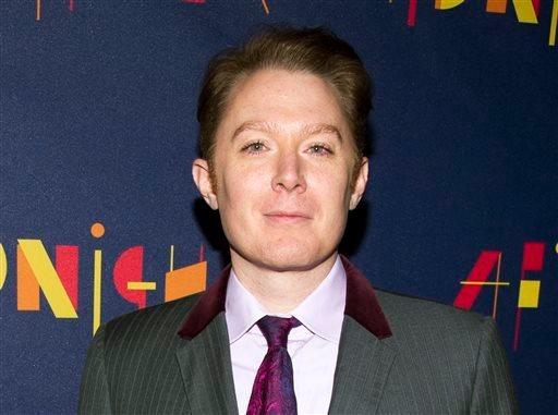 """This Nov. 3, 2013 file photo shows former """"American Idol"""" contestant Clay Aiken at the Broadway opening of """"After Midnight""""in New York."""