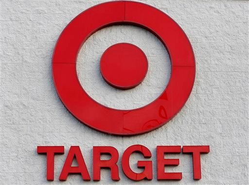 This Dec. 19, 2013, file photo shows a Target retail chain logo on the exterior of a Target store in Watertown, Mass.