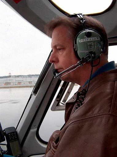 This undated photo released by KOMO-TV shows helicopter pilot Gary Pfitzner. (AP)
