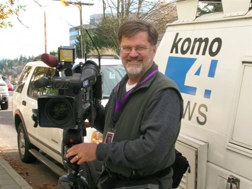 This undated photo released by KOMO-TV shows former longtime KOMO photographer Bill Strothman. (AP)