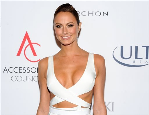 This Nov. 4, 2013 shows actress and model Stacy Keibler at the 17th Annual ACE Awards in New York.