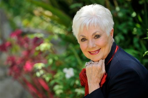 In this July 15, 2013 file photo, actress Shirley Jones poses for a portrait at her home in Los Angeles.