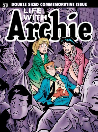"This photo released by Archie Comics shows ""Life with Archie."""