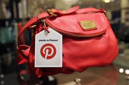 This undated image provided by Nordstrom shows a handbag made popular on Pinterest that is available at Nordstrom stores.