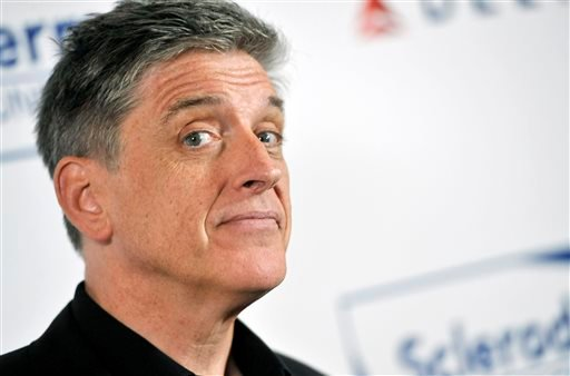 In this Tuesday, April 30, 2013, file photo, comedian Craig Ferguson poses at the Cool Comedy's Hot Cuisine Benefit for the Scleroderma Research Foundation at the Four Seasons Hotel in Beverly Hills, Calif.