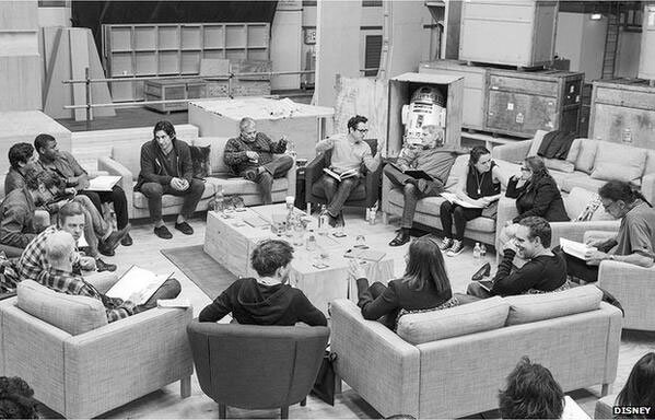 Image shows the cast of the upcoming Star Wars Episode VII. Image courtesy StarWars.com