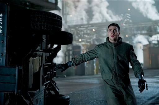 "This photo released by Warner Bros. Pictures shows Aaron Taylor-Johnson as Ford Brody in Warner Bros. Pictures' and Legendary Pictures' sci-fi action adventure, ""Godzilla,"" a Warner Bros. Pictures release. (AP)"