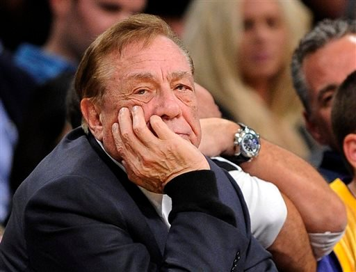 In this Feb. 25, 2011, file photo, Los Angeles Clippers owner Donald Sterling looks on during the first half of their NBA basketball game against the Los Angeles Lakers in Los Angeles.
