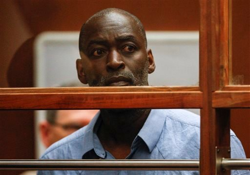 Actor Michael Jace appears in court in Los Angeles Thursday, May. 22, 2014. (AP)