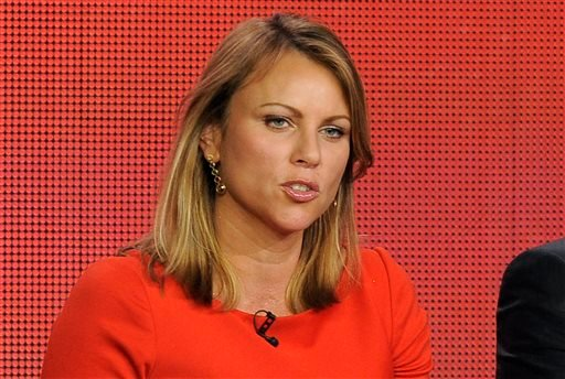 "FILE - In this Jan. 12, 2013 file photo, ""60 Minutes"" reporter Lara Logan takes part in a panel discussion at the Showtime Winter TCA Tour in Pasadena, Calif. (AP)"