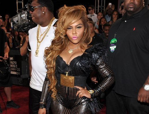 FILE - This Aug. 25, 2013 file photo shows Lil' Kim at the MTV Video Music Awards in the Brooklyn borough of New York. (AP)