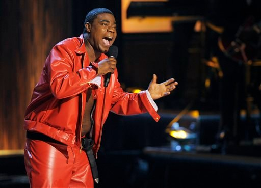 """FILE - In this Nov. 3, 2012 file photo, comedian Tracy Morgan performs at """"Eddie Murphy: One Night Only,"""" a celebration of Murphy's career at the Saban Theater in Beverly Hills, Calif. (Photo by Chris Pizzello/Invision, File)"""