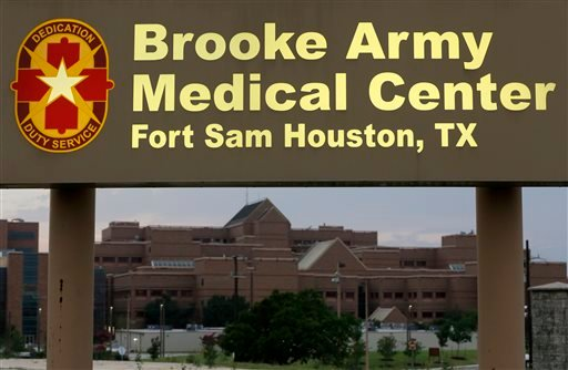 Brooke Army Medical Center is shown Thursday, June 12, 2014, in San Antonio.
