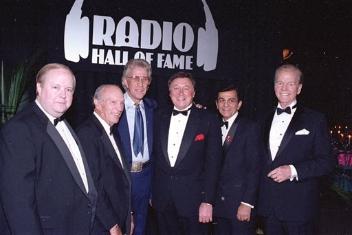 Kasem, the smooth-voiced radio broadcaster who became the king of the top 40 countdown, died Sunday, June 15, 2014, according to Danny Deraney, publicist for Kasem's daughter, Kerri. He was 82. (AP Photo/Fred Jewell, file)