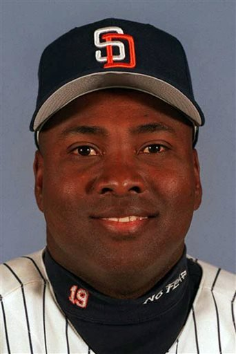 This 1999 file photo shows San Diego Padres' Tony Gwynn.