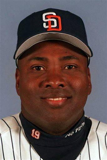 This 1999 file photo shows San Diego Padres' Tony Gwynn.