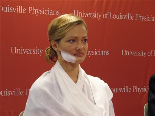 FILE - In a Tuesday, Oct. 29, 2013 file photo, Lessya Kotelevskaya attends a news conference in Louisville, Ky. (AP)