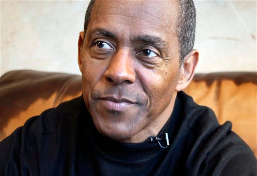 In this Jan. 25, 2012 file photo taken from video, Hall of Fame football player Tony Dorsett is interviewed in his home in suburban Dallas. (AP Photo/Martha Irvine, File)