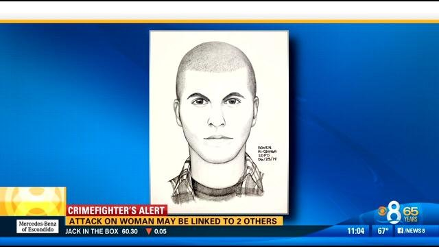 Sketch of a suspect in a June 17 assault on a woman in North Park.