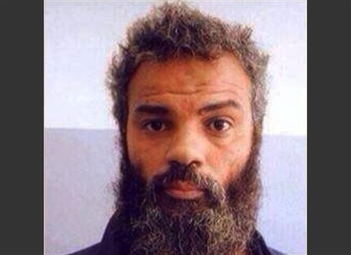 This undated file image obtained from Facebook shows Ahmed Abu Khattala, an alleged leader of the deadly 2012 attacks on Americans in Benghazi, Libya, who was captured by U.S. special forces on Sunday, June 15, 2014, on the outskirts of Benghazi.