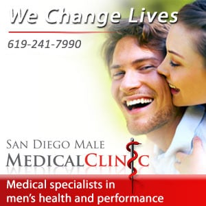 San Diego Male Medical Clinic sponsorship