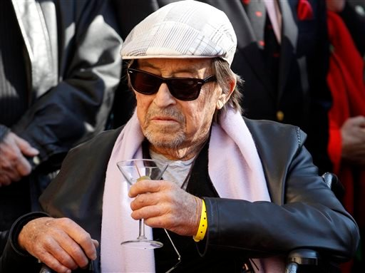 In this Dec. 13, 2013, file photo, actor/director Paul Mazursky is honored with a star on the Hollywood Walk of Fame in Los Angeles. He was 84. (AP Photo/Damian Dovarganes, File)
