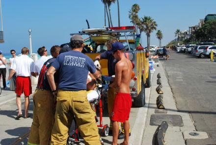 Photos courtesy: Eric Hartman/Manhattan Beach Patch
