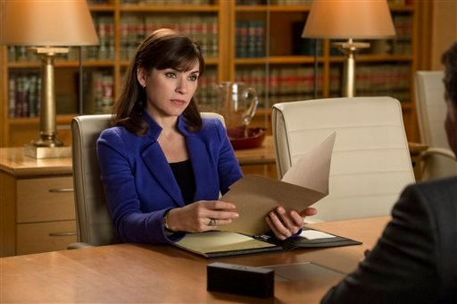 "This image released by CBS shows Julianna Margulies as Alicia Florrick in a scene from ""The Good Wife."" (AP)"