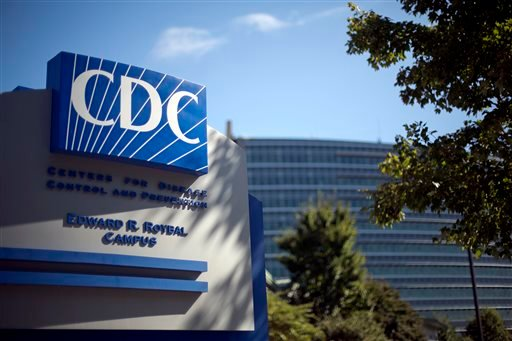 FILE - In this Oct. 8, 2013, file photo, a sign marks the entrance to the federal Centers for Disease Control and Prevention,in Atlanta. (AP)