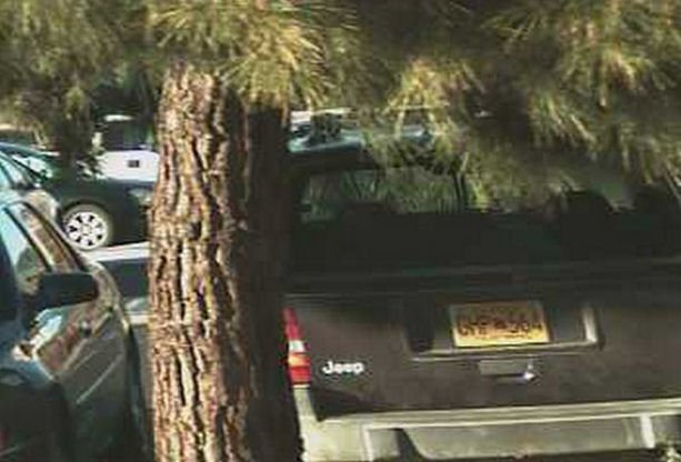 Detectives searched this Jeep Cherokee on July 1 (license plate reader image taken Dec. 22, 2013 in Yucca Valley)