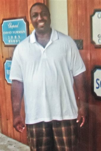 In this undated family file photo provided by the National Action Network, Saturday, July 19, 2014, Eric Garner is shown.
