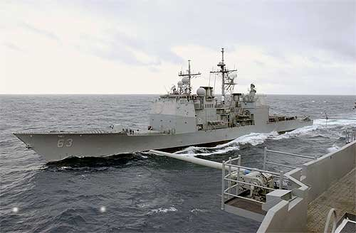 USS Cowpens (Photo US Navy)