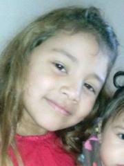 6 year old Alycea Mendez is described as an Hispanic female, brown hair in a pony tail (dark on top and light toward the bottom). She was last seen wearing a white shirt and blue pants (school uniform).