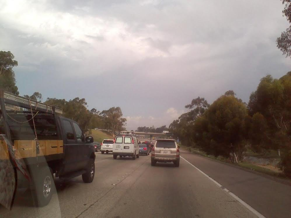 Viewer-Submitted photo of Northbound I-805 Wednesday, August 20, 2014.