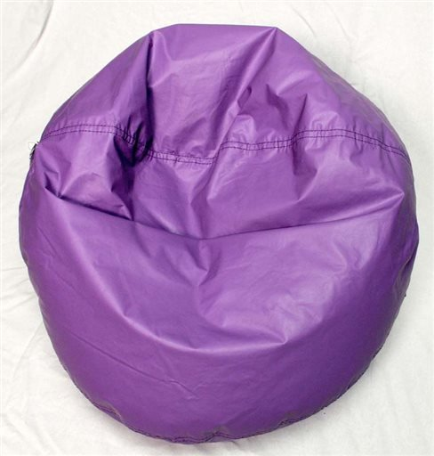 This undated image provided by the U.S. Consumer Product Safety Commission shows an Ace Bayou Bean Bag Chair.